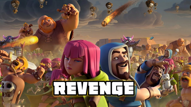 Best Revenge in clash of clans