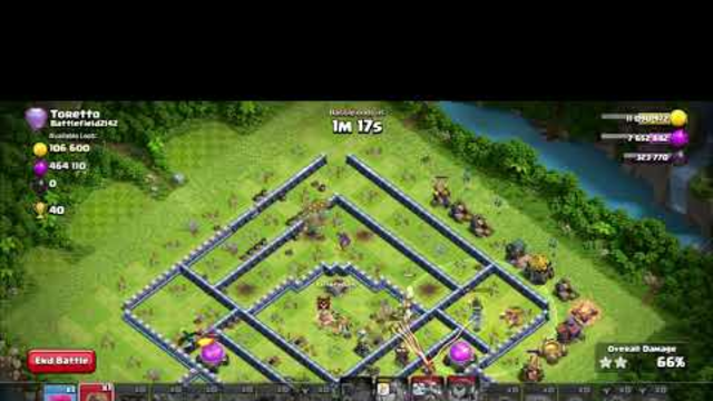 COC-074 Clash of Clan TH14 3s Strategy Attack