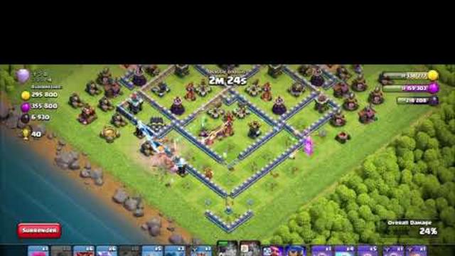 COC-073 Clash of Clan 3s Dragon Riders Strategy Attack