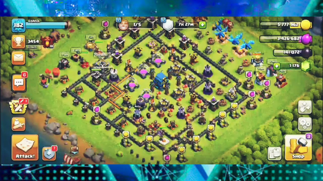 Townhall 12 max attack electro and balloon  clash of clans best attacks