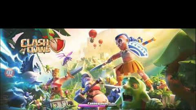 gameplay de clash of clans#1