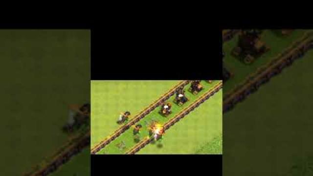 Air defense formation vs Inferno Dragon   Clash of Clans