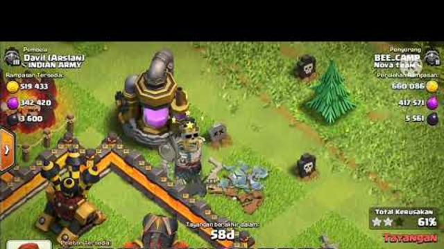 CLASH OF CLANS LOOTING #clashofclans #looting #gaming #thebubukofficial