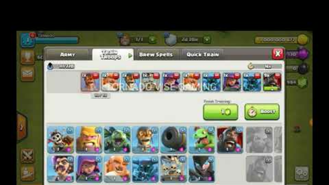 HOW TO DOWNLOAD CLASH OF CLANS PRIVATE SERVER 2021  UNLIMITED TROOP...