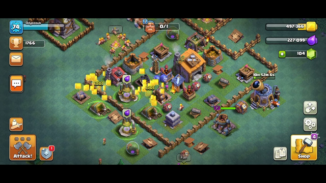 Becoming rich in clash of clans vs battles