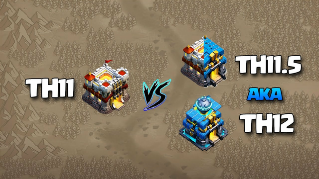 Th11 vs Th12 aka Th11 vs Th11.5 3 STAR ATTACK STRATEGY - How to 3* Th11 vs Th12 CLASH OF CLANS Coc
