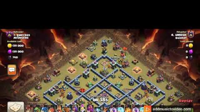 TH14 Electro Dregon Attack |CLASH OF CLANS