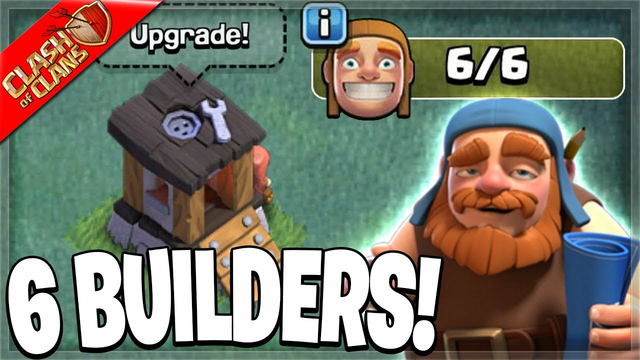 How to Unlock the 6th Builder in Clash of Clans!