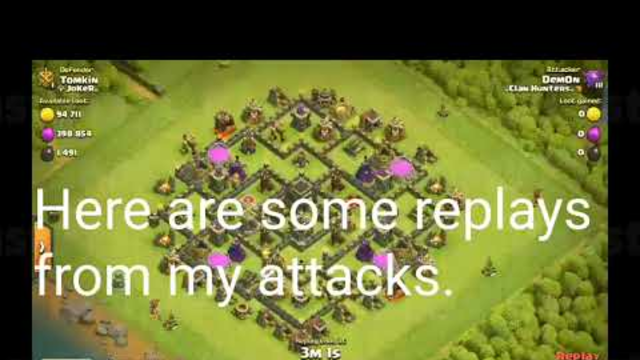 Clash of clans no commentary 1