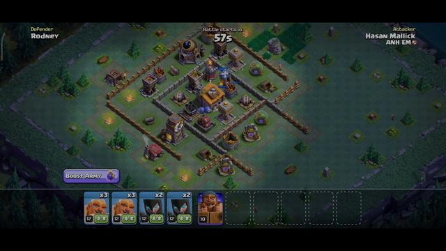 Clash of Clans Battle Games Versus Battle  | 68% Complete - 1 STAR  | Part - 2