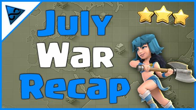 July War Recap - Eternal Eleven - Clash of Clans