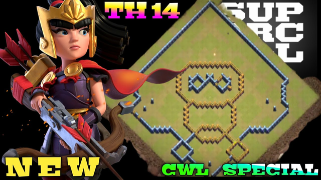 AUGUST CWL SPECIAL BASE LAYOUT ANTI 2STAR | CLASH OF CLANS | TOP 10 TH14 CWL SPECIAL BASE LINK