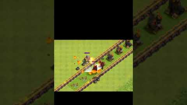 Air defense formation vs Lava Hound|| Clash of Clans