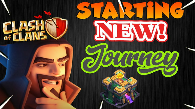 COC LIVE// A New Journey Starts From Here- Clash Of Clans