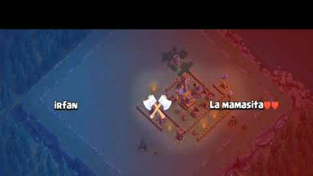 clash of clans.. 3 attacks at a time... Archer attack only///