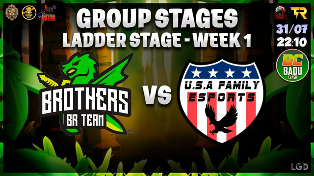 Brothers BR Team  vs U.S.A THUNDER1 /  EH Jungle braw cup / CLASH OF CLANS
