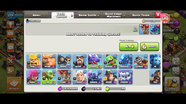 Watch me stream Clash of Clans on Omlet Arcade!/