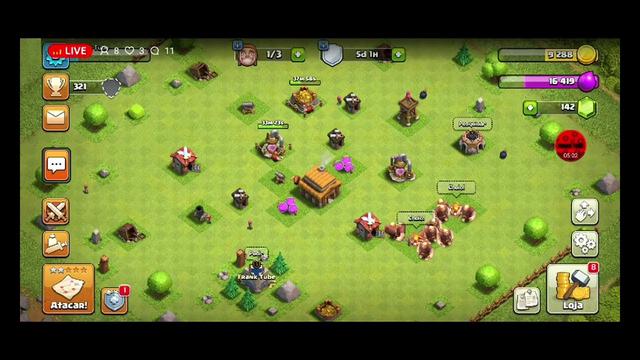 Jogando Clash Of Clans  #2