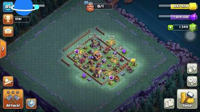 [Sold] Clash of Clans Account - Town Hall 9 #119