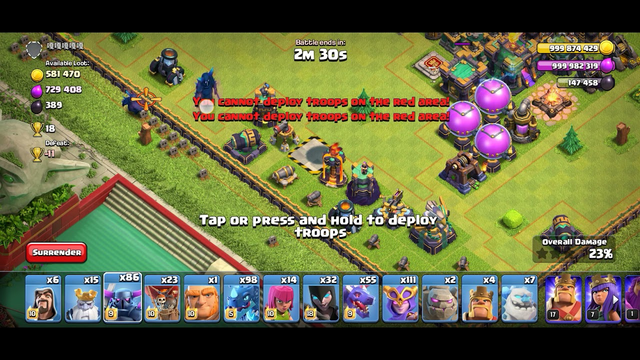 Clash Of Clans / A Mega Fight