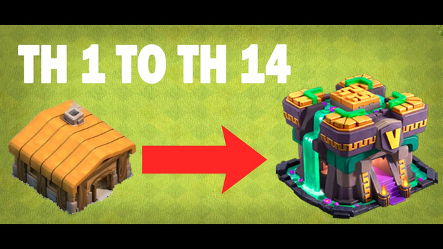 NEW COC TH1 TO TH 14 | in 20 minutes