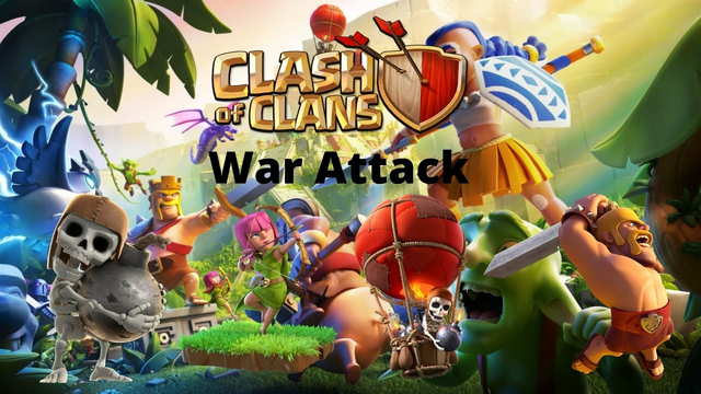 Clash of Clans: War Attack TH 5