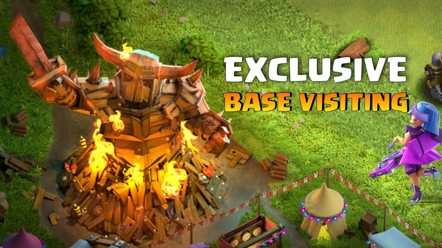FIRST TH10 Legend Pushing  (CLASH OF CLANS) | 2nd SPECIAL Base Visiting