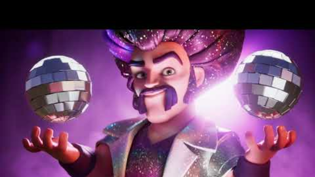party wizard theme with deferent effects - clash of clans