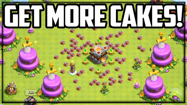 Get MAX Cakes in Clash of Clans - MAKE Them Spawn in Specific Places!