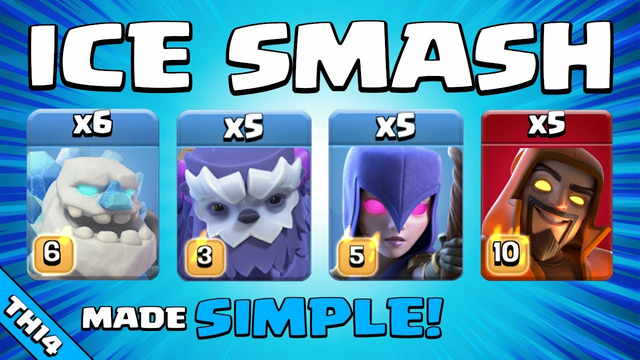 THE PERFECT ARMY!!! NEW TH14 Attack Strategy | Clash of Clans