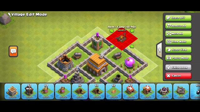 Clash of Clans th5 base with link. [Anti balloon] Mega defense base.