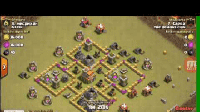 CLASH OF CLANS: CLAN WAR CONTRO UN CLAN RUSSO