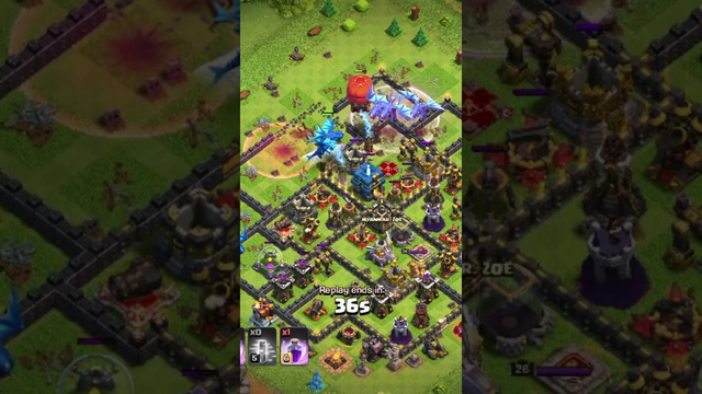 Town Hall 12 Attack l Clash Of Clans l #Electric #Dragon #Th12 #Rage #Loot #seigeMachine #100%