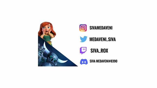 Clash Of Clans Live|| @sivamedaveni || COC || #th4 ||#th9