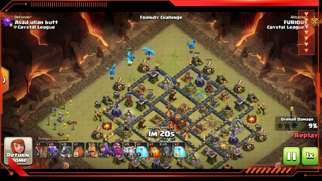 Clash Of Clans   Electro Dragon Attack    COC #gaming