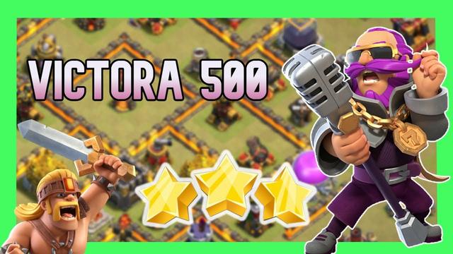 directo ESPECIAL victoria 500 clash of clans