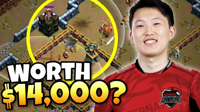 2 BUILDINGS could be worth $14,000 for these World Champions! Clash of Clans eSports
