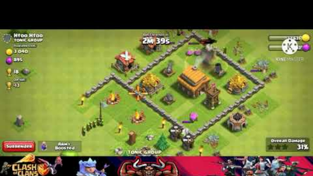 Clash Of Clans (C.O.C)Gameplay, TH 5 Best Goblin Attack