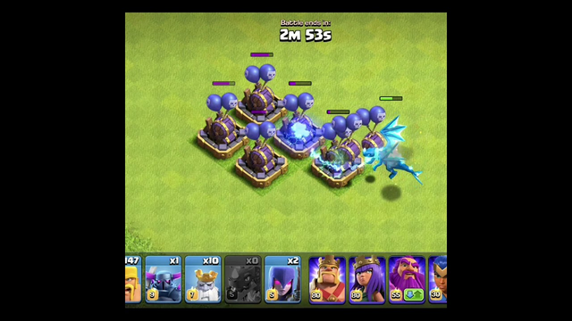 Can Electro Dragon win ? || Clash of Clans #shorts #COC