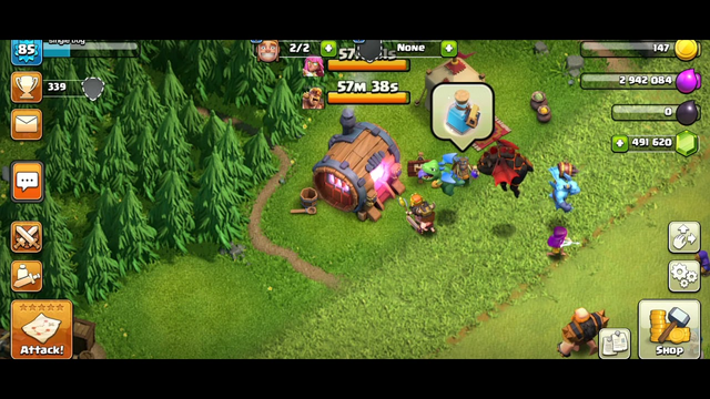 Normal Troops Becoming Super Troops Troop Parade Clash of clans
