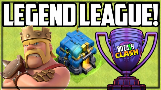 Town Hall 12 CRUSHING Legend League Bases! Clash of Clans No Cash Clash #206