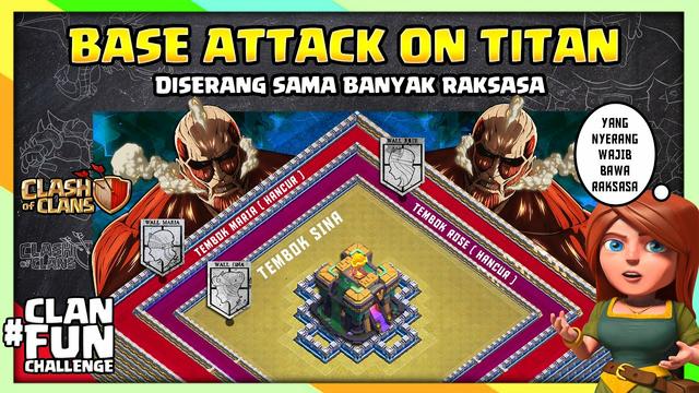 BASE CoC PERTAHANAN MANUSIA TERAKHIR! Clasher Dibuat Merinding | CFC Indonesia