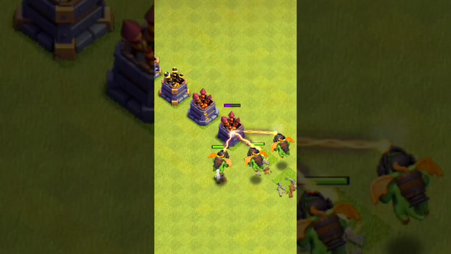 Inferno Dragon Vs Firecrackers | Clash of Clans