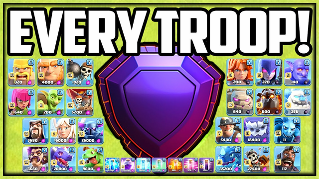 Using EVERY Troop in Legend League! Clash of Clans NOAH'S ARK!