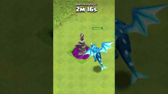 How Many Levels Of Wizard Towers Can MAX Electro Dragon One Shot? | Clash of Clans