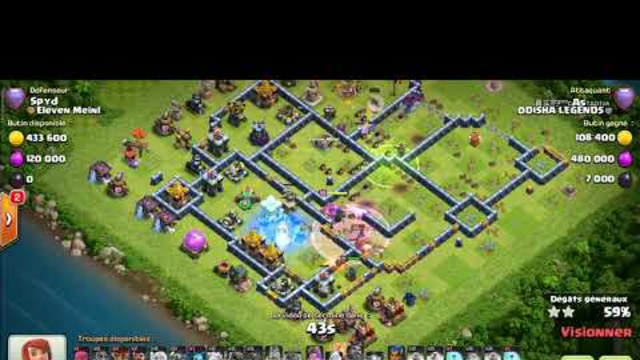 TH14 easy strategy to perfect attacks clash of clans library(2)