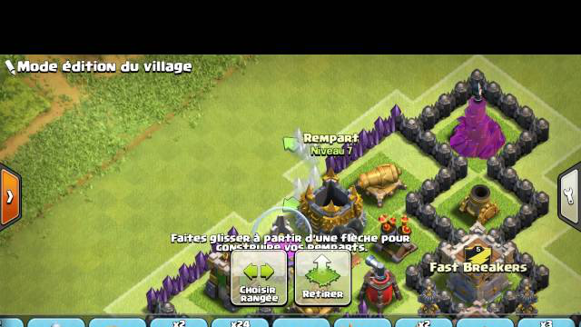 Clash of Clans - Village HDV 8 Rush