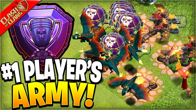 Copying the #1 PLAYER IN THE WORLD's Army for Legends League! (Clash of Clans)