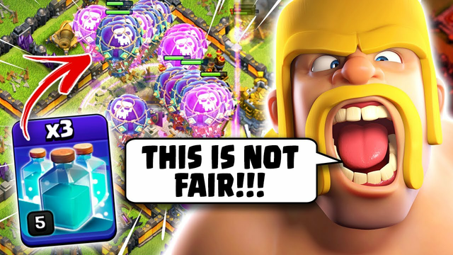 TH12 Triple Clone Should Be ILLEGAL! (Clash of Clans)