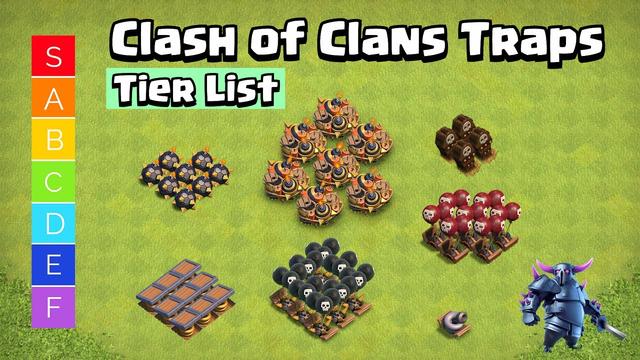 Clash of Clans Traps Tier List